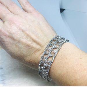INC International Concepts Jewelry - Inc Silver Flex Band Bracelet